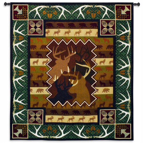 Antlers Wall Tapestry