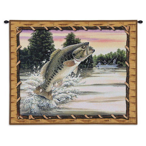 Bass Attack Wall Tapestry