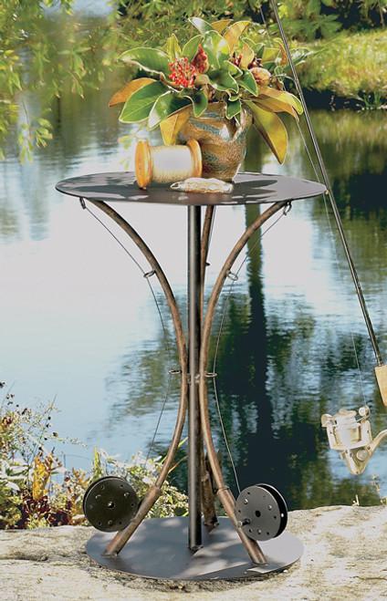 3-Fishing Pole End Table