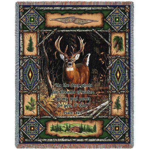 Deer Lodge Psalm Blanket
