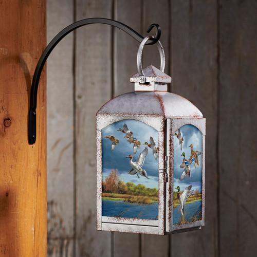 Duck Flight Lantern - Silver
