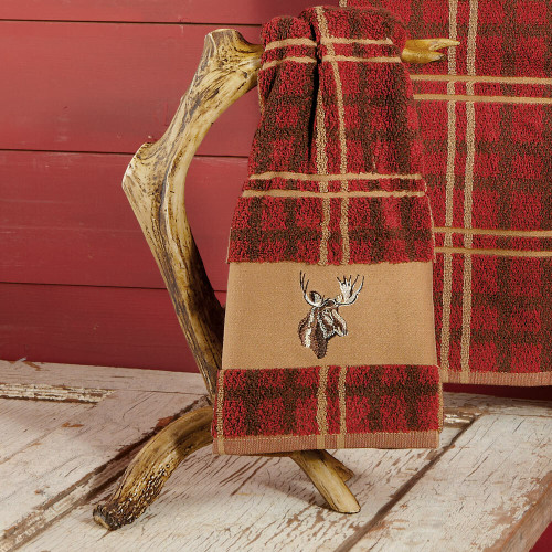 Faux Antler Towel Stand