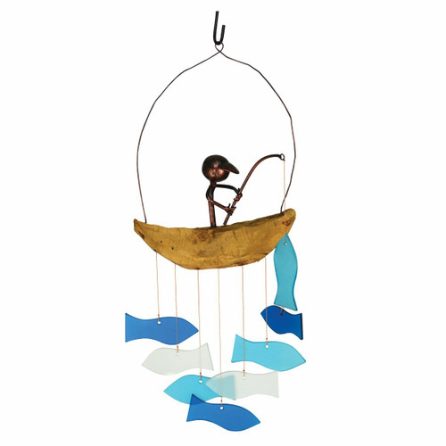 Fishing Boat Wind Chime