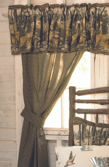 Whitetail Dreams Valance  - OUT OF STOCK