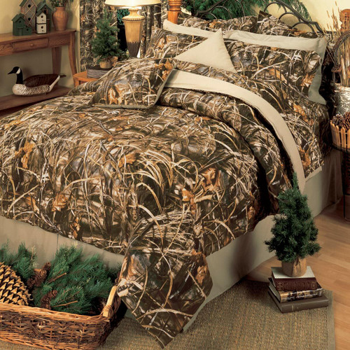 Realtree Max-4 Camo Comforter Set - Full