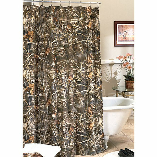 Realtree Max-4 Camo Shower Curtain  - OUT OF STOCK