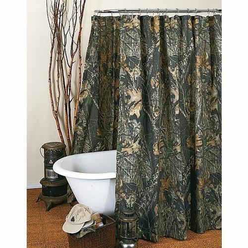 Mossy Oak New Break-Up Camo Shower Curtain