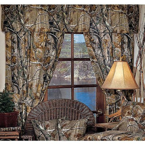 Realtree All Purpose Camo Valance  - OUT OF STOCK