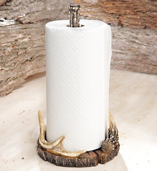 Antler Paper Towel Holder