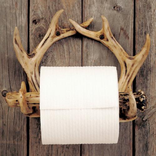 Antler Toilet Paper Holder - BACKORDERED UNTIL 12/10/2021
