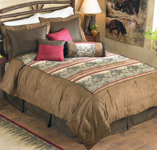 Woodland Deer Bed Set - Queen