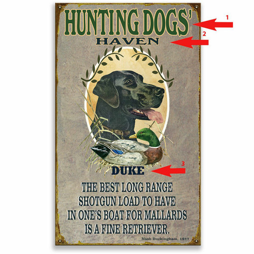 Dog Haven Sign - 23 x 39