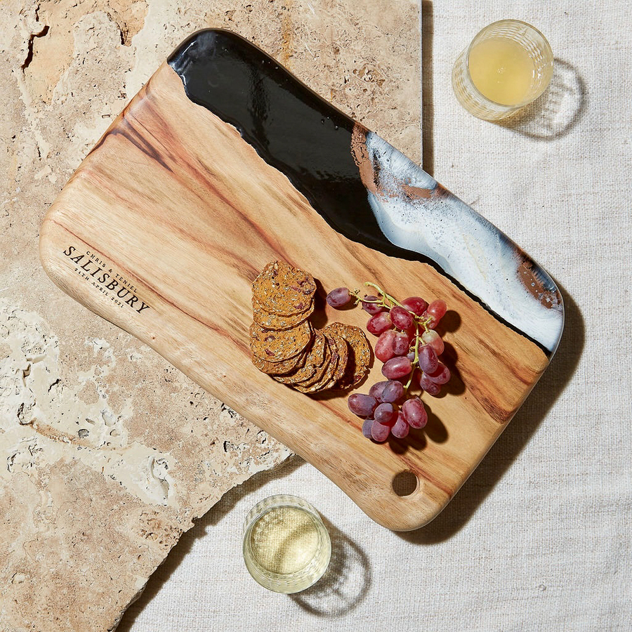 Resin Cheese Boards