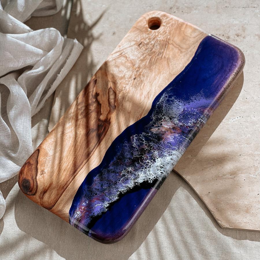 Purple Resin Design