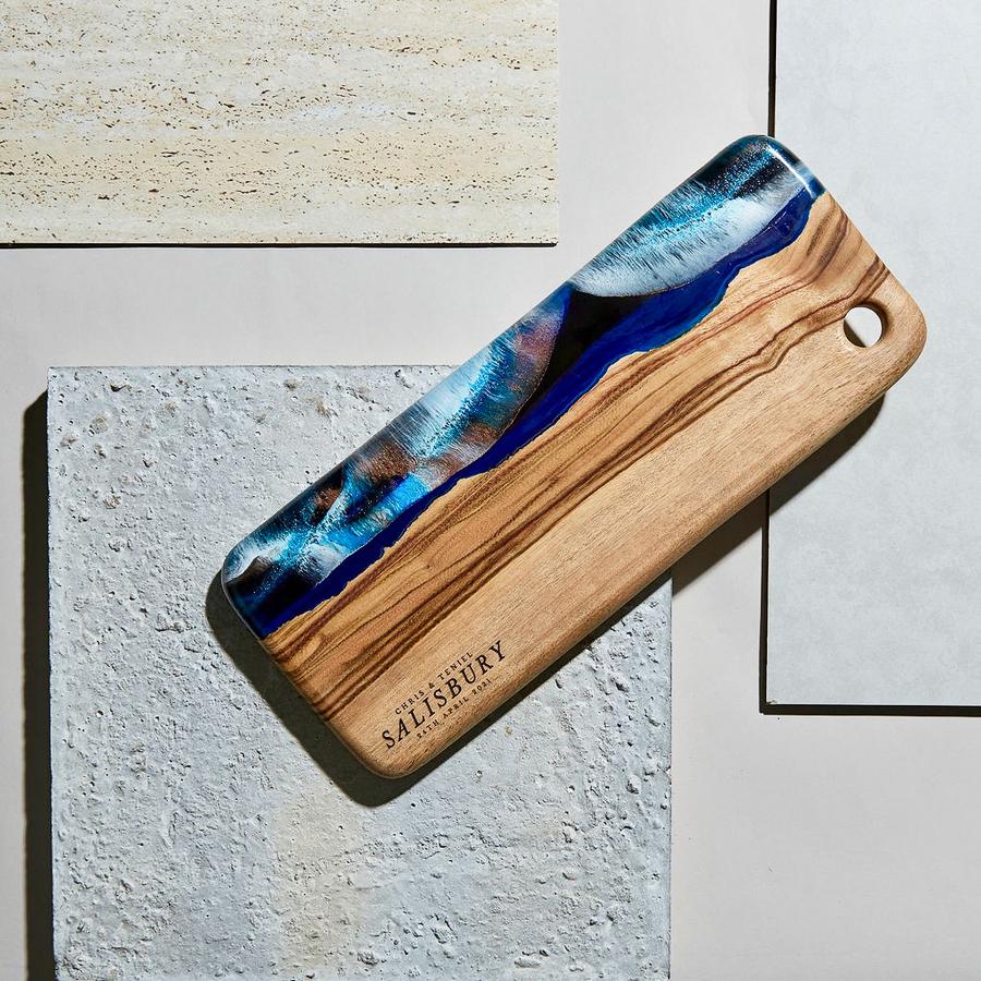 Deep Blue Resin Design