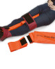 Ferno Frac Straps Splinting a Broken Leg | Physical Sports First AId