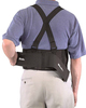 Mueller 252 Back Support with Braces | Showing Adjustable Compression | Physical Sports First Aid