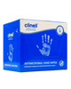 Clinell Antimicrobial Hand Wipes | Box of 100 Sachet-Wrapped Wipes | Physical Sports First Aid