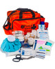 Sports Physio Kit | Pitchside First Aid Kit in Orange Bag | Physical Sports First Aid