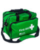 First Aid Holdall Bag | Green, Front View | Physical Sports First Aid