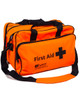First Aid Holdall Bag | Orange, Front View | Physical Sports First Aid