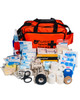 Ultimate Football First Aid Kit | Orange Holdall with Contents | Physical Sports First Aid