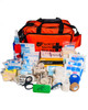 Ultimate Netball First Aid Kit | Orange Holdall with Contents | Physical Sports First Aid