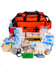 Ultimate Cricket First Aid Kit | Orange Holdall with Contents | Physical Sports First Aid