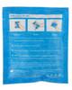 QuickSoothe Soft Instant Cold Pack | Rear View with Full Instructions | Physical Sports First Aid