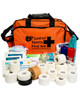 Pro Pitchside Taping Kit | In Orange Holdall | Physical Sports First Aid