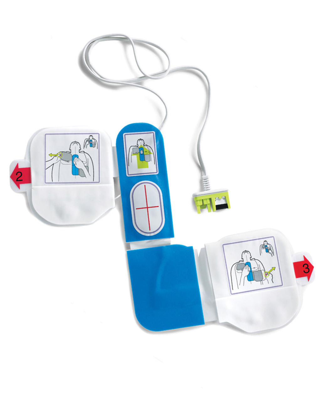 ZOLL AED Plus CPR-D-padz (Adult Electrodes)