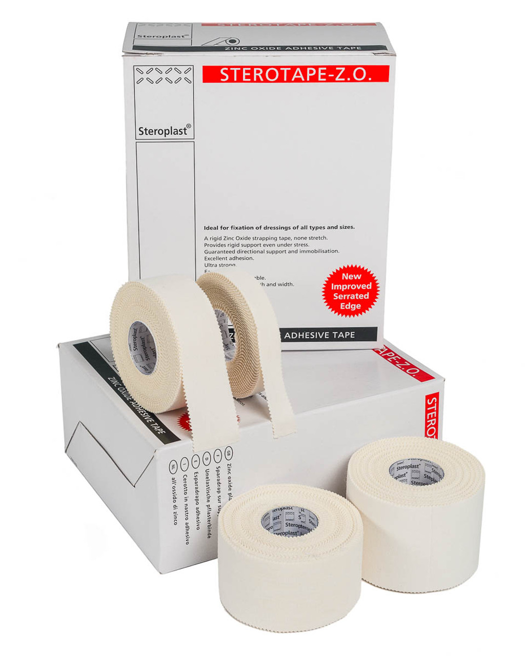 Steroplast Zinc Oxide Tape - Case Quantities