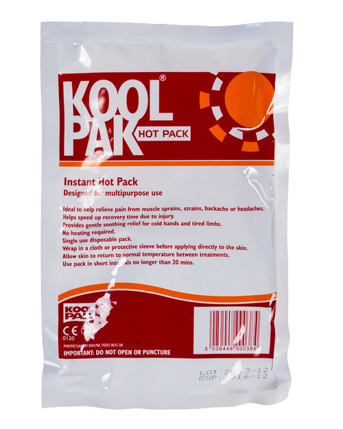 Koolpak Instant Hot Pack | Physical Sports First Aid