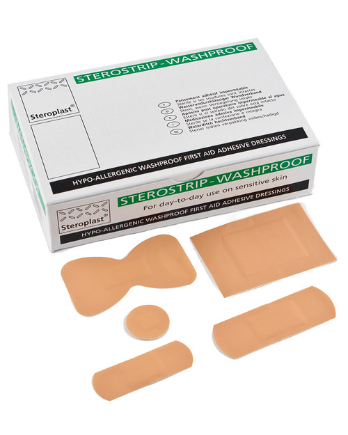 Premium Washproof Plasters | Physical Sports First Aid