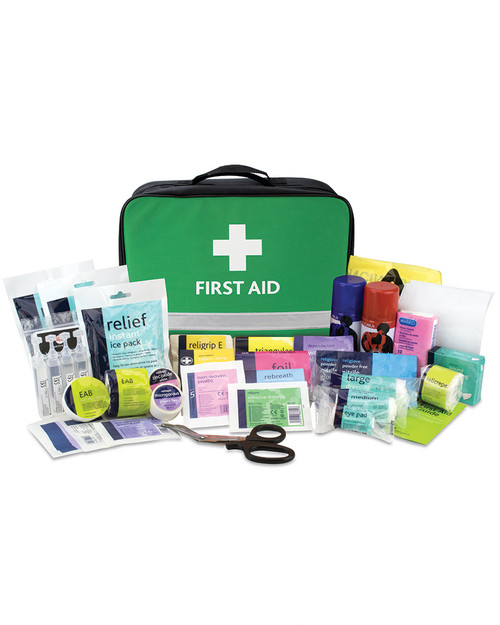 Relisports Stadium First Aid Kit | Bag and Contents | Physical Sports First Aid