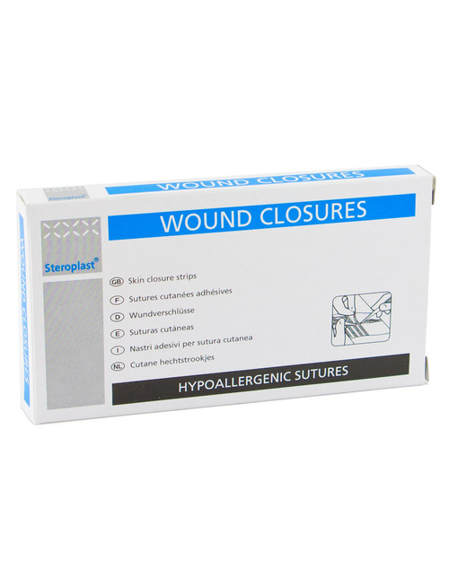 Wound Closures (Non-Stitch Sutures)   Pack Shot   Physical Sports First Aid