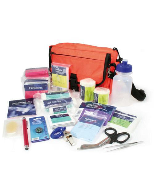 Outdoor Pursuits First Aid Kit | Bag and Contents | Physical Sports First Aid
