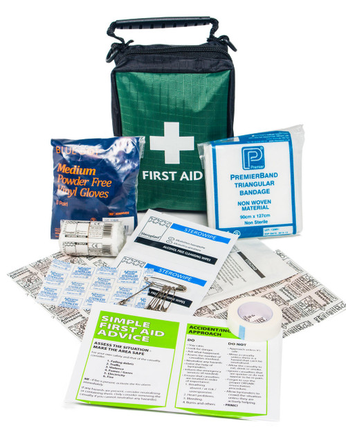 Mini Sports First Aid Kit | Showing Contents | Physical Sports First Aid