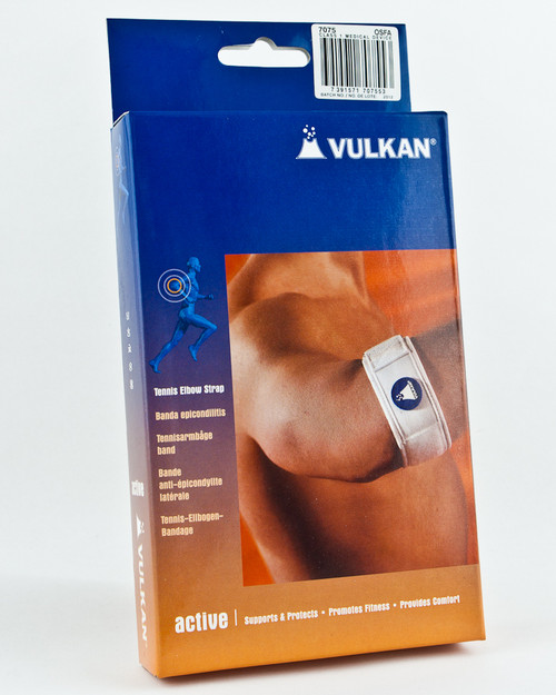 Vulkan Tennis Elbow Strap, Boxed | Physical Sports First Aid