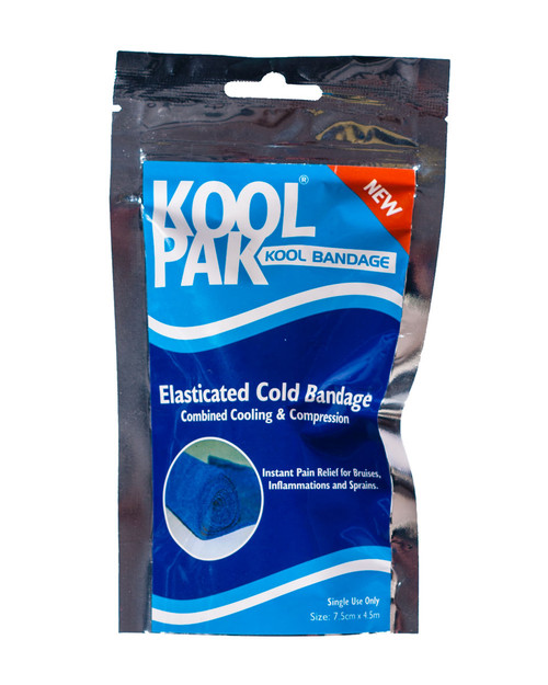 KoolPak Kool Bandage | Elasticated Cold Bandage | Physical Sports First Aid