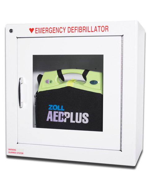 ZOLL Wall Cabinet | Alarmed Defibrillator Cabinet | Physical Sports First Aid