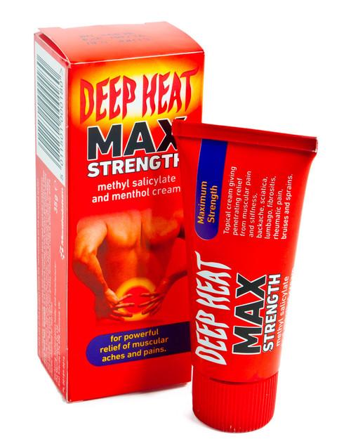 Deep Heat Max Strength 35g | Physical Sports First Aid