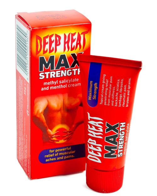 Deep Heat Max Strength 35g | Physical Sports First Aid