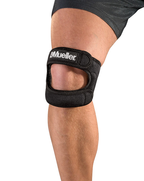 Mueller 59857 Max Knee Strap | Dual-Strap Knee Support | Physical Sports First Aid