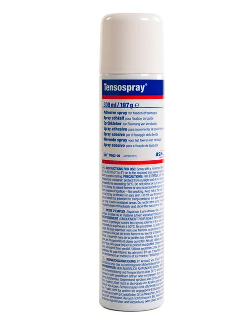 Tensospray Pre-Tape Adhesive   300ml Aerosol Spray   Main Pic   Physical Sports First Aid