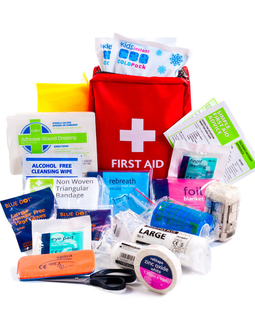 Cricket First Aid Kit | Bag and Contents | Physical Sports First Aid