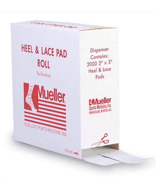 Mueller Heel & Lace Pads in Dispenser Box