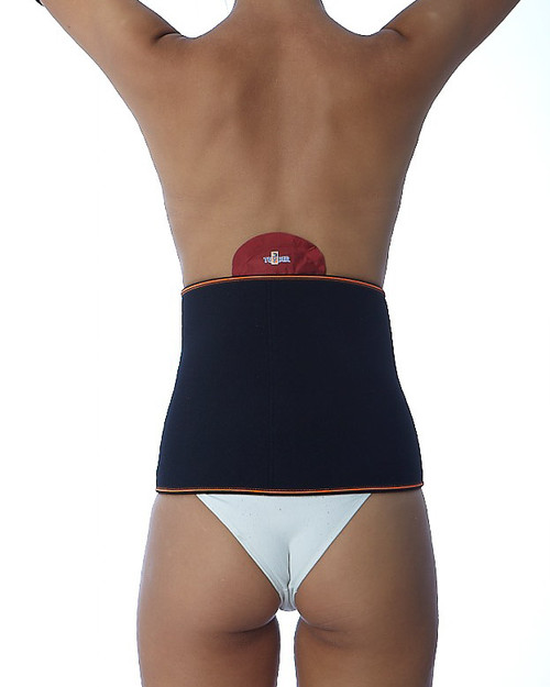 Teyder Sport One Lumbar Support   Rear View Showing Hot & Cold Pad   Physical Sports First Aid