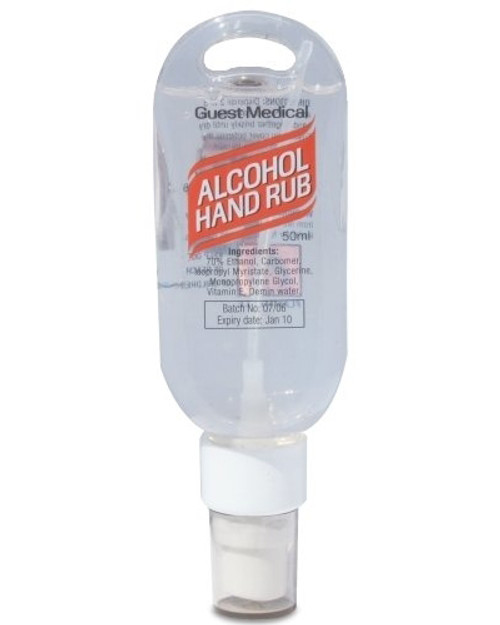 Alcohol Hand Rub | 50ml Spray | Physical Sports First Aid