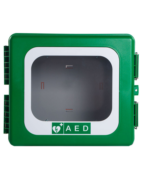 Outdoor Defibrillator Cabinet | Front View | Physical Sports First Aid